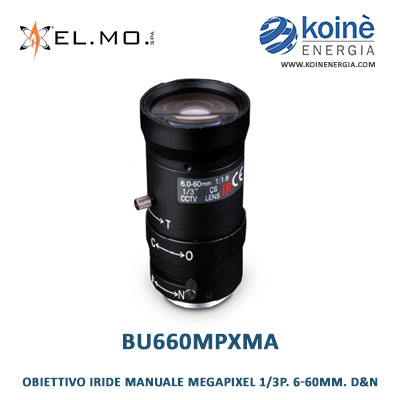 BU660MPXMA obiettivo elmo
