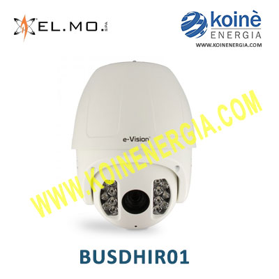 BUSDHIR01 Elmo-telecamera ip speed dome