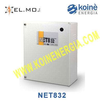 NET832 elmo centrale allarme