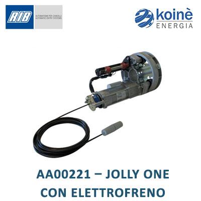 RIB AA00221 JOLLY ONE CON ELETTROFRENO
