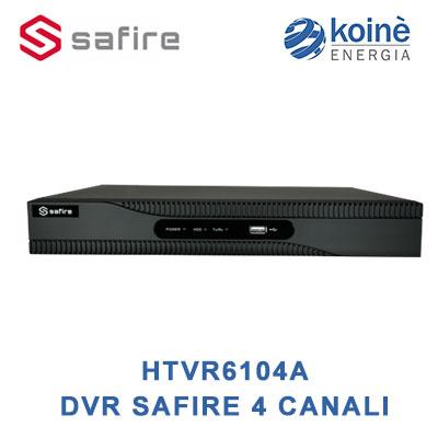 HTVR6104A SAFIRE DVR 4 CANALI