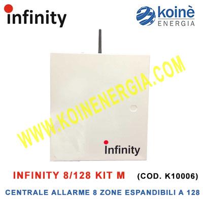 Infinity 8 128 Kit M centrale allarme k10006-