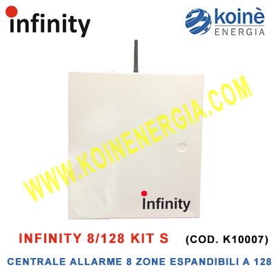 Infinity 8 128 Kit s centrale allarme-k10007-