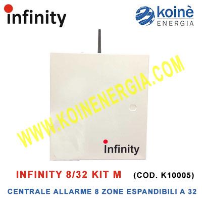 Infinity 8/32 Kit m centrale allarme k10005