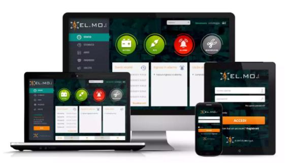 Piattaforma e-connect EL.MO. responsive per i vari dispositivi