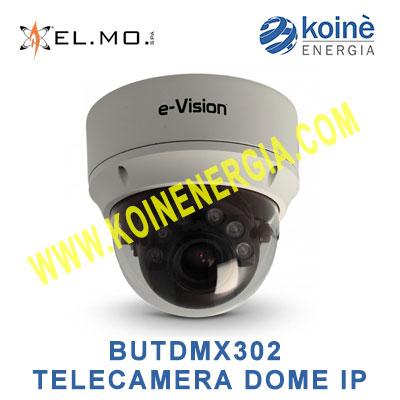 BUTDMX302 TELECAMERA ELMO IP DOME