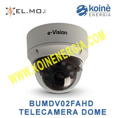 BUMDV02FAHD TELECAMERA DOME ELMO