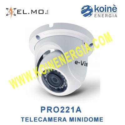 PRO221A telecamera videosorveglianza minidome elmo