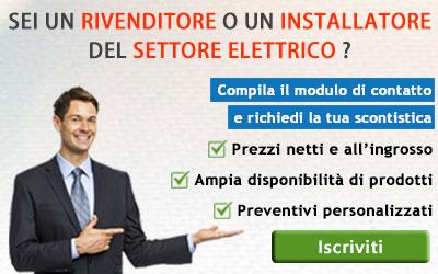 listini per rivenditori e installatori del settore elettrico