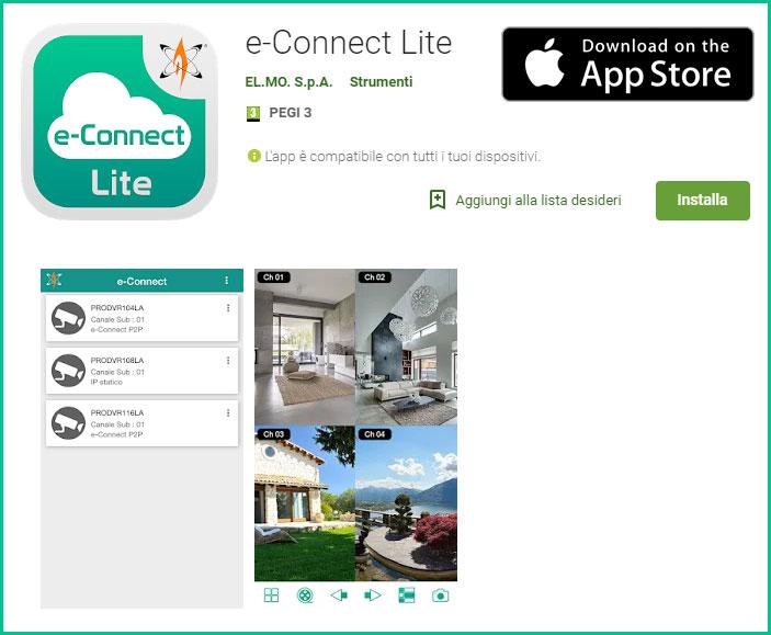 e-Connect-Lite-app-store