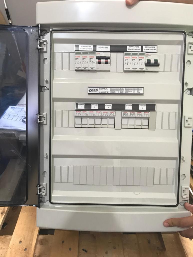 Schema Elettrico Quadro Di Campo Stringhe : Quadri elettrici per impianti civili e industriali ad agrigento
