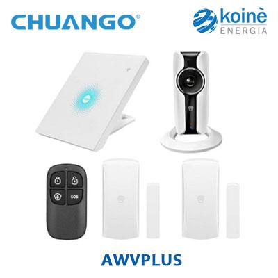 AWVPLUS chuango kit allarme