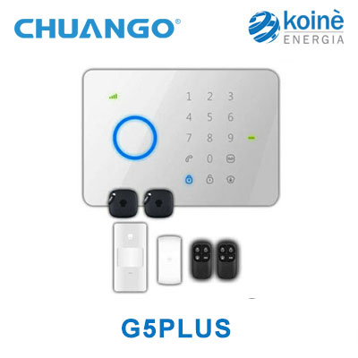 G5PLUS kit allarme chuango