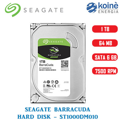 SEAGATE HARD DISK BARRACUDA 1TB