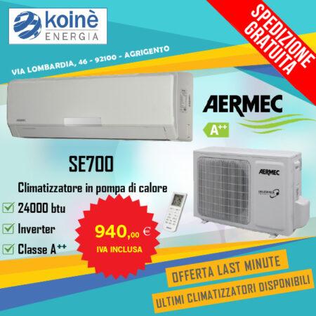 climatizzatore aermec 24000 btu
