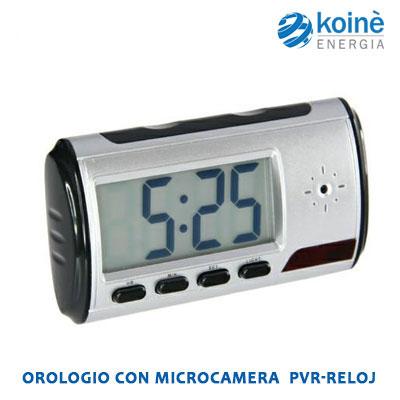 pvr despertg b OROLOGIO CON MICROCAMERA
