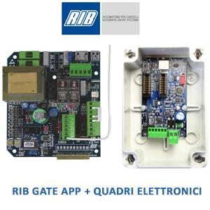 RIB GATE APP + QUADRI ELETTRONICI