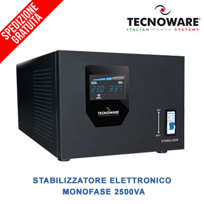 stabilizzatore-elettronico-monofase-2500VA-tecnoware