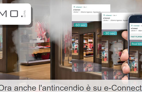 Econnect Elmo per antincendio