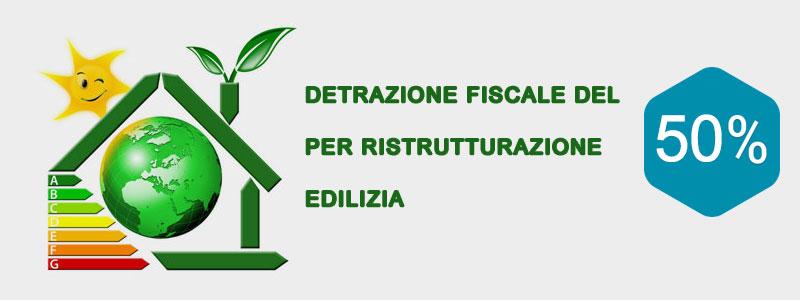 BONUS EDILIZIA 50% ristrutturazioni