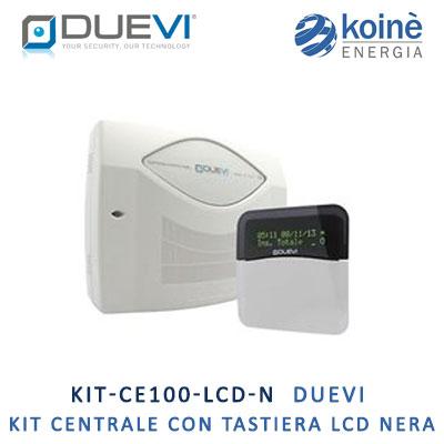 KIT CE100 LCD N DUEVI