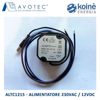 ALTC1215 AVOTEC ALIMENTATORE 230Vac 12vdc