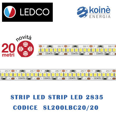 LEDCO STRIP LED SL200LBC20 20
