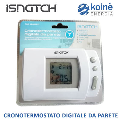 isnatch cronotermostato digitale