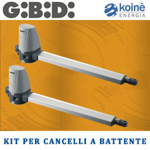 gibidi kit cancelli battente