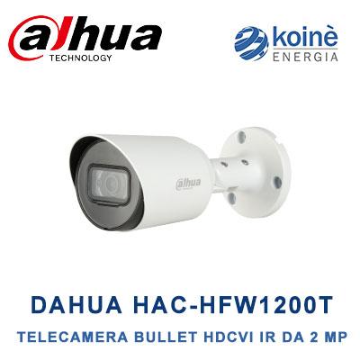 DAHUA HAC HFW1200T telecamera bullet