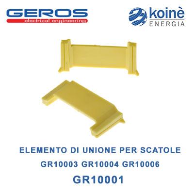 GR10001 GEROS ELEMENTO DI UNIONE PER SCATOLE
