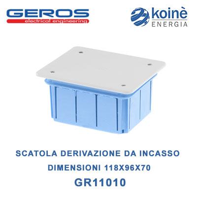 GR11010 geros scatola di derivazione