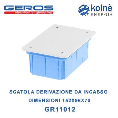 GR11012 geros scatola di derivazione