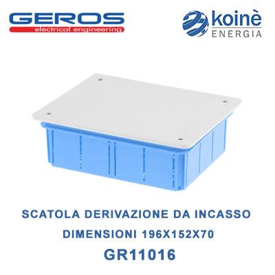 GR11016 GEROS SCATOLA DI DERIVAZIONE