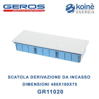 GR11020 GEROS scatola di derivazione