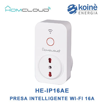HE-IP16AE homecloud presa intelligente