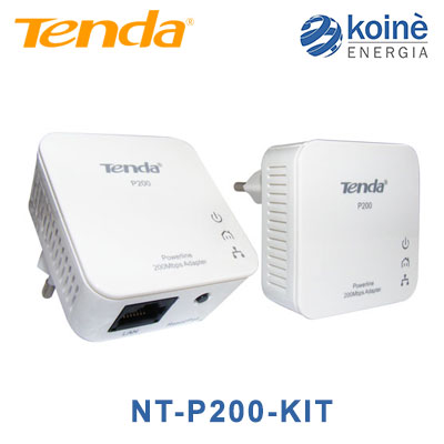 NT-P200 KIT Tenda Kit 2 mini adattatori