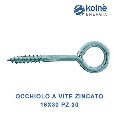 OCCHIOLO A VITE zincato