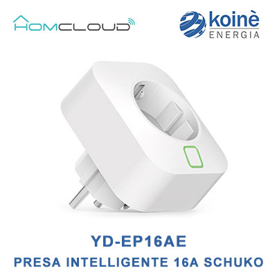 YD-EP16AE home cloud presa intelligente schuko