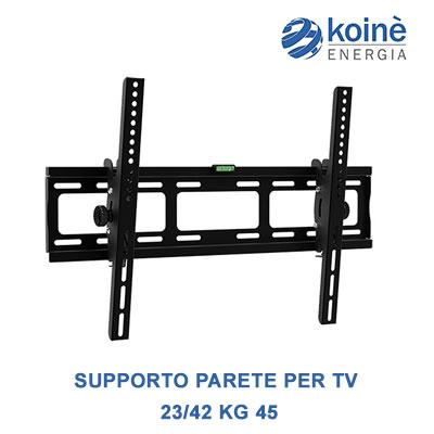 supporto parete per tv 23 42