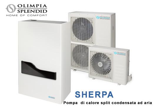 sherpa pompa di calore