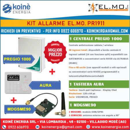 ELMO KIT ALLARME PR1911