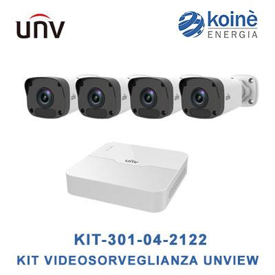 KIT-301-04-2122 uniview-kit videosorveglianza