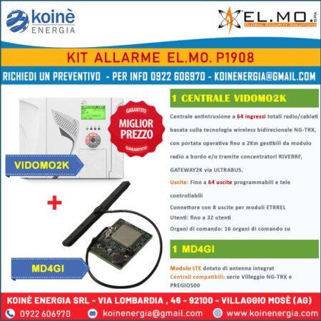 kit allarme elmo P1908