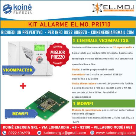 kit allarme elmo pr1710