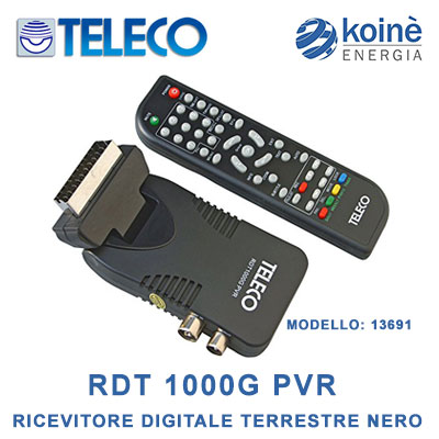 teleco rdt 1000g pvr 13691
