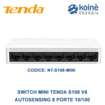 tenda NT S108 MINI switchmini tenda