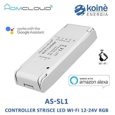 AS-SL1 HOMCLOUD CONTROLLER STRISCIA LED