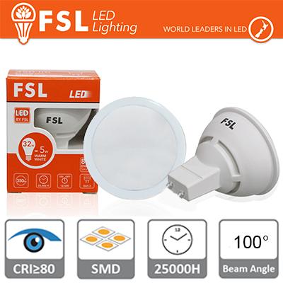 FLGU10A6W40K100 FSL GU10 lampadina