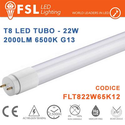 Fsl FLT822W65K12 tubo led